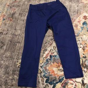 Gap Maternity - Royal blue classic khakis